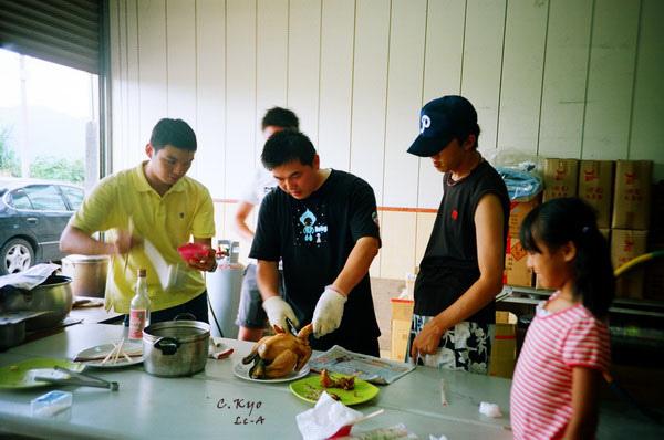 2010新社中秋烤肉