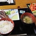 TATAKI鰹魚定食