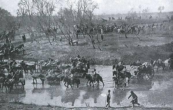 1905奉天會戰後俄國陸軍後撤慘況