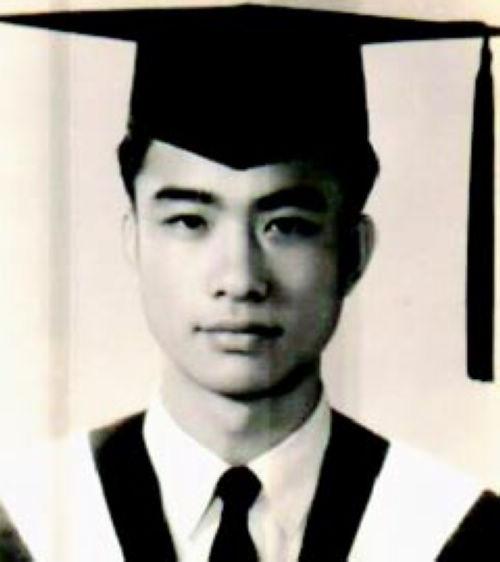 朱經武一九六二年從成功大學畢業。f_199082_2