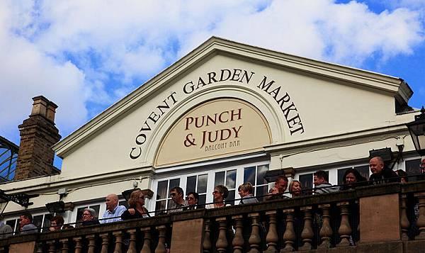 01斗大的Covent Garden Market 還有露天觀景台 !