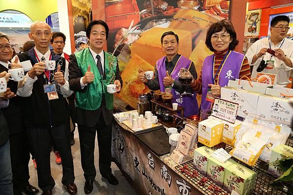 賴市長推廣東山咖啡