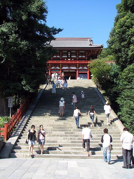 450px-Tsurugaoka_Hachiman_Shrine_View