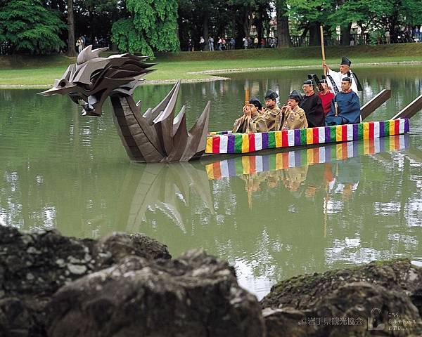 毛越寺曲水の宴4