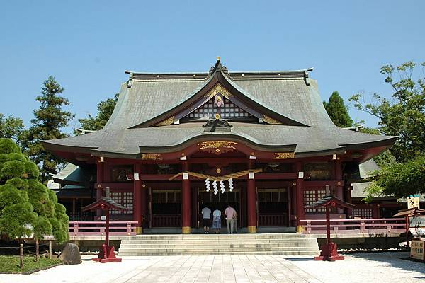 日本三大稻禾神社之一的笠間稲荷神社