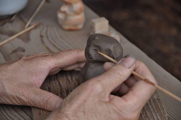 No1667_持光寺の「にぎり仏」作り体験