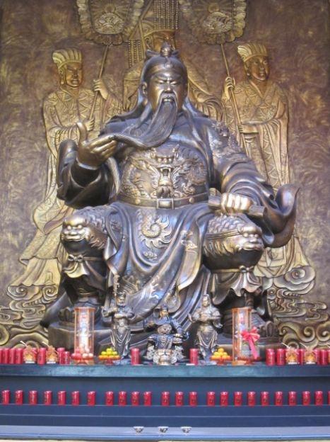 關聖帝君聖像桃園龜山威天宮9