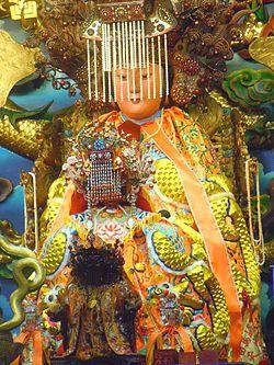 白馬峰普天宮鎮殿聖母