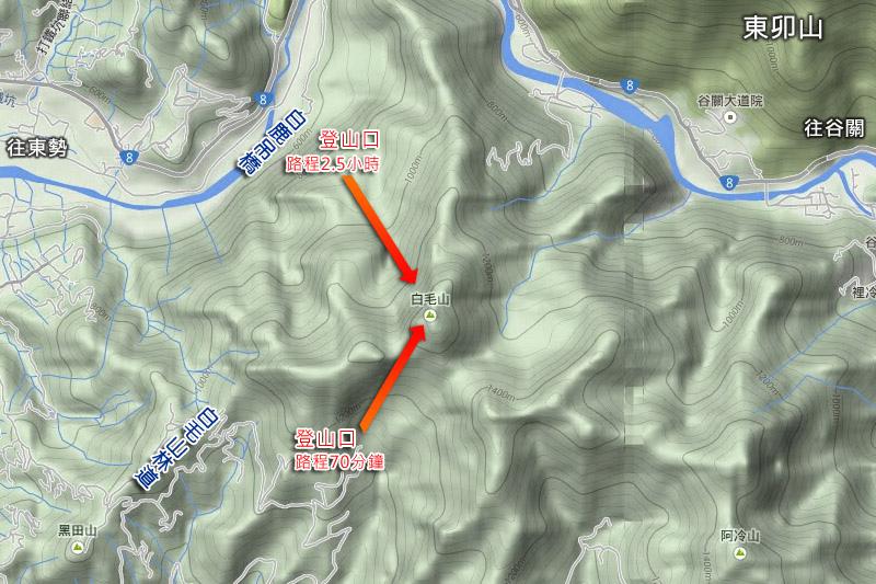 白毛山森林步道