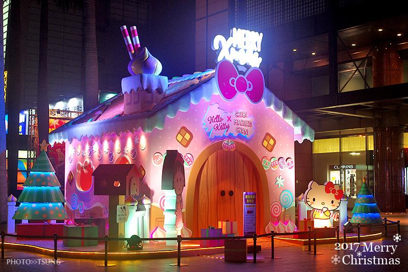 台中新光三越歡樂耶誕夢幻樂園