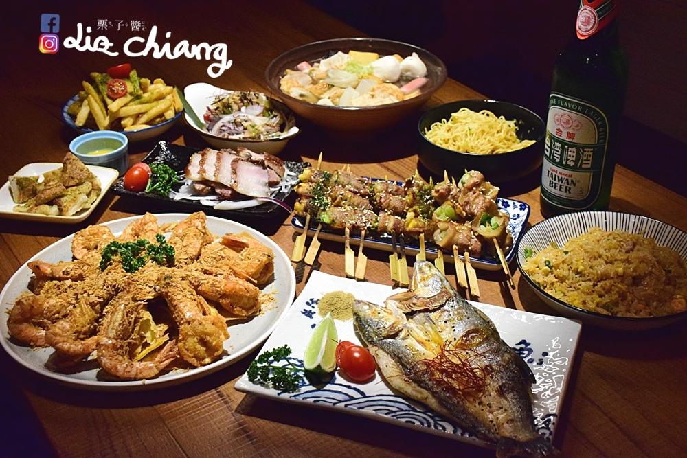 拿手串-串燒-消夜-台中美食DSC_0429Liz chiang 栗子醬.JPG