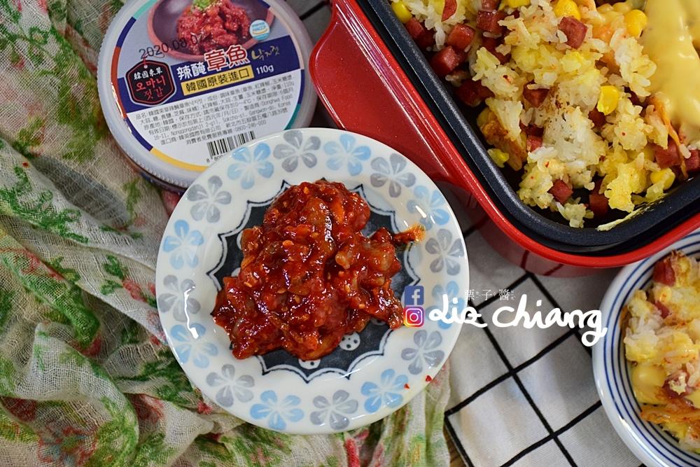 韓國進口食品-正安韓式料理-料理DSC_0492Liz chiang 栗子醬-台中美食部落客.JPG