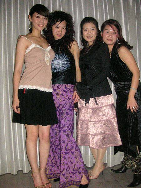 Karie, Nikki, Ally, & Joyce