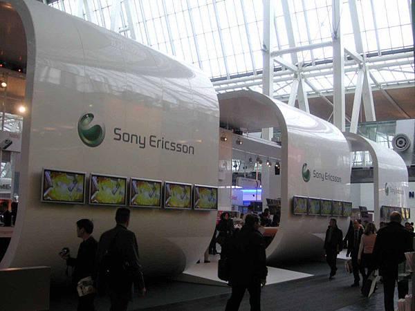 SonyEricsson booth