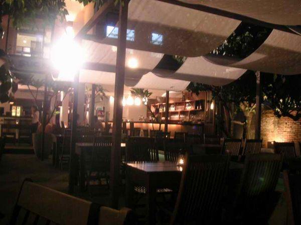 Villa Suger outdoor seats