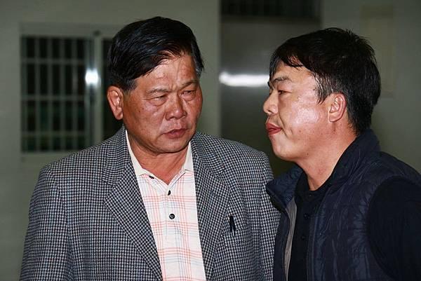 左:高祕書長,右:林文三