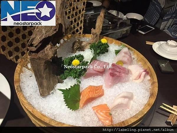 豪氣生魚片超氣派
