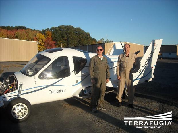 Engineer Andrew Heafitz & Test Pilot Phil Meteer