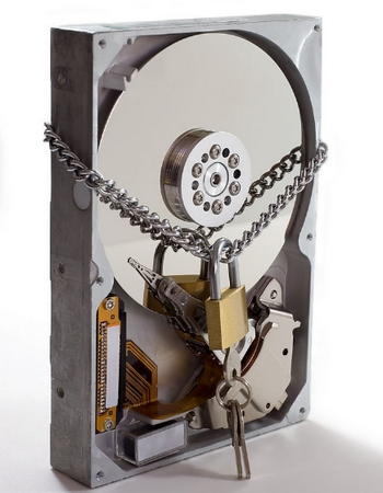 Lock Your Disk