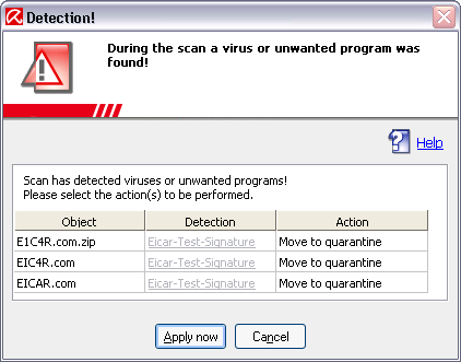 AV9-Detection Scanner Expert Mode