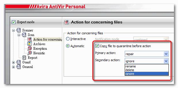 AV9-React when detecting 2