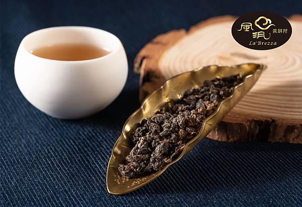 圖三:茶葉與炭火交織凝鍊出誘人的香甜焙火味及美麗的古銅色外觀。