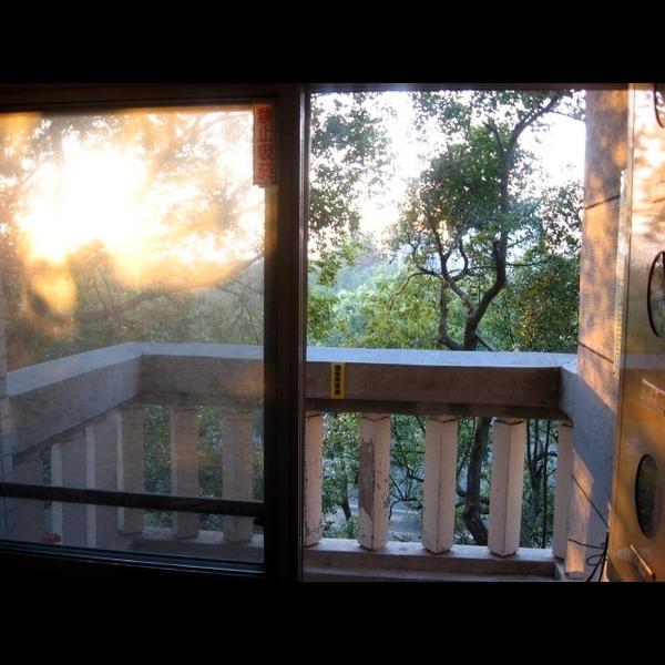 宿舍的陽台