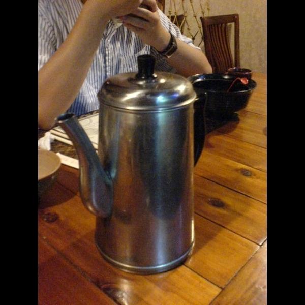 店裡的茶壺