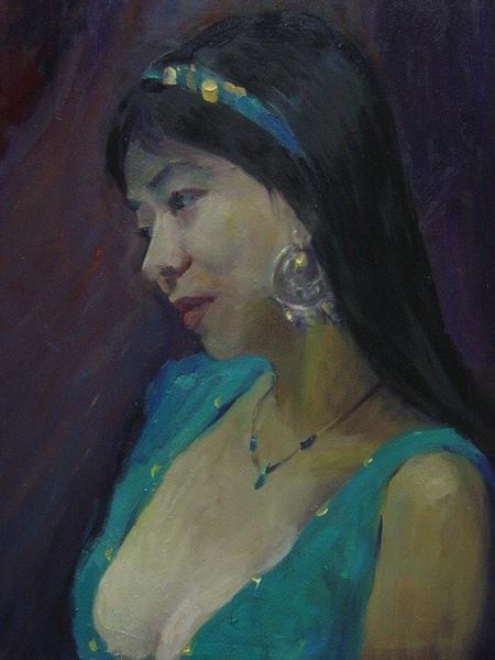 ☆。:゚Grace゚:。☆ 油畫中的我