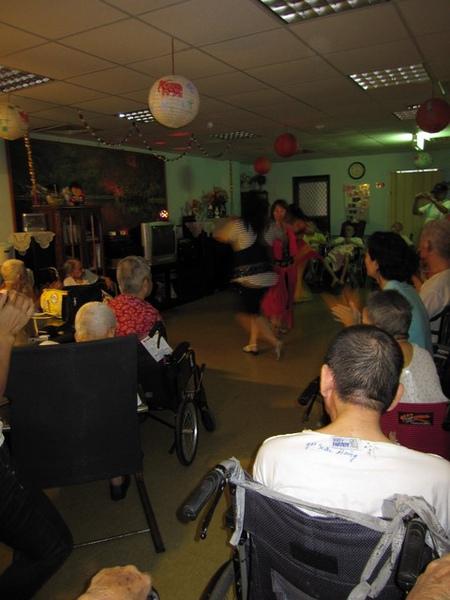 2009-9-12莊敬老人養護所義演