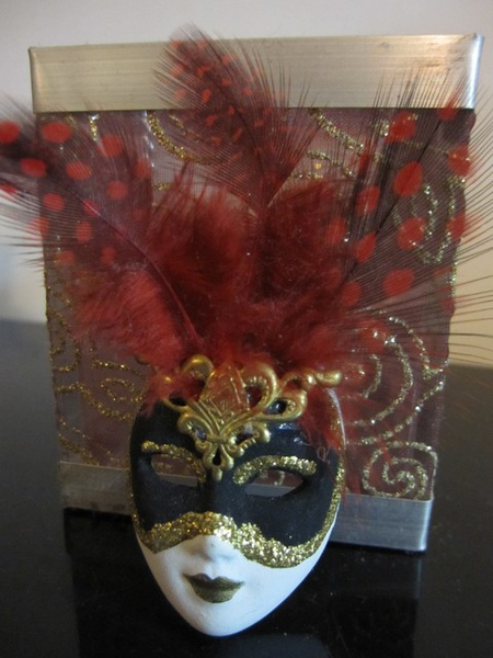 威尼斯面具+燭臺