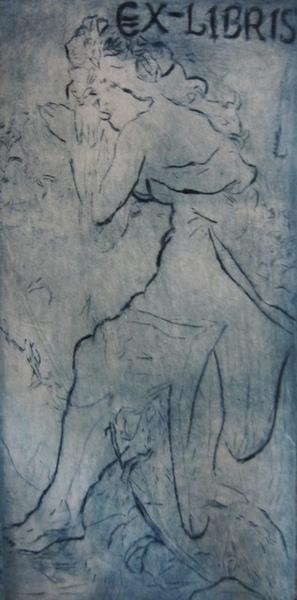 藏書票(版畫)