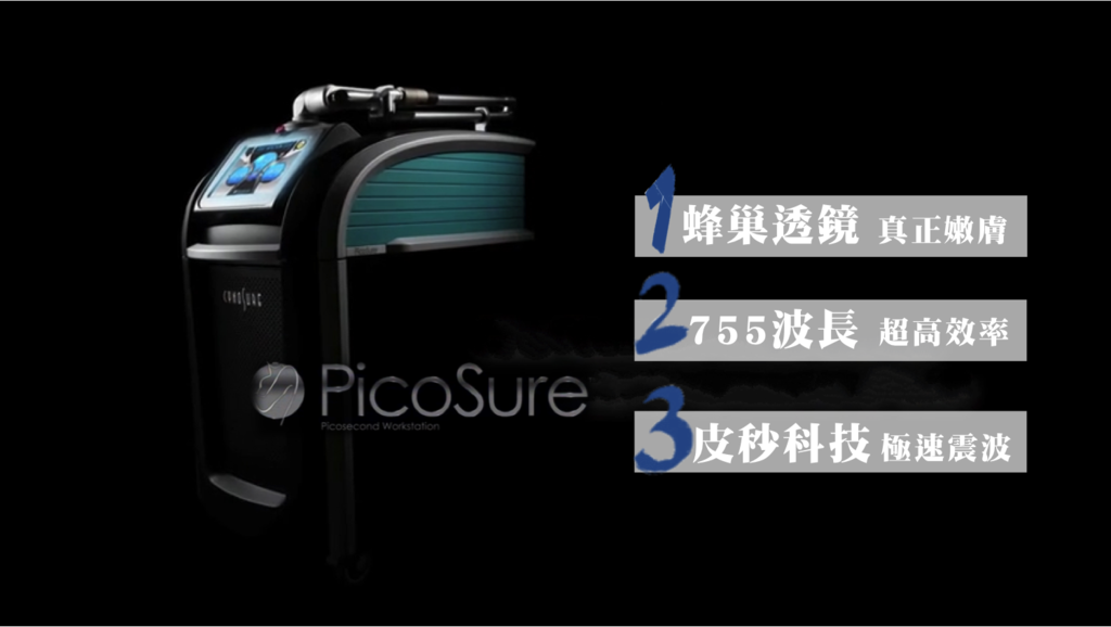 PicoSure755皮秒雷射蜂巢透鏡皮秒雷射膠原蛋白一代皮秒美白淡斑除皺細紋凹疤毛孔暗沉黑色素.png