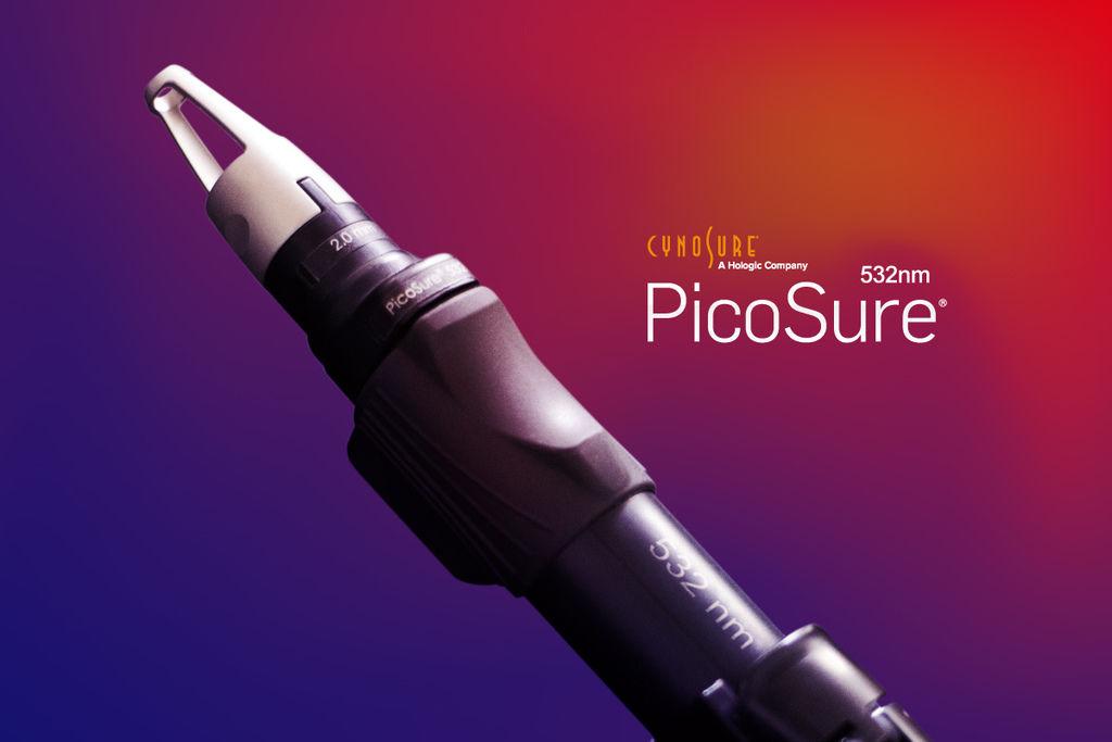 PicoSure755蜂巢皮秒雷射皮秒雷射蜂巢透鏡532波長清除刺青