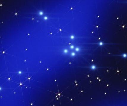 滿天星光燦爛---一閃一閃亮晶晶