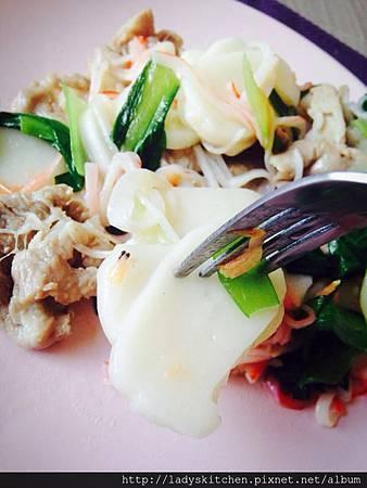 豬肉蝦米炒寧波年糕