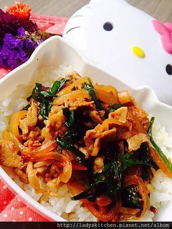 泡菜豬肉洞飯