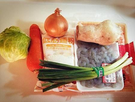 海鮮蔬菜煎餅材料.jpg
