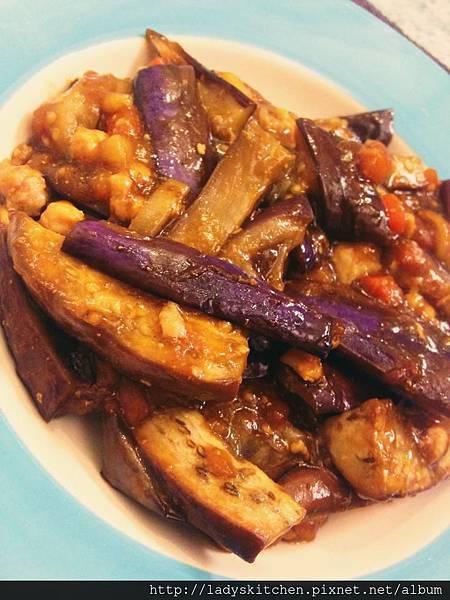 味曾肉醬紫茄