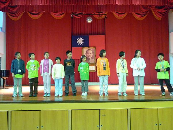 得獎的十位同學,真棒!