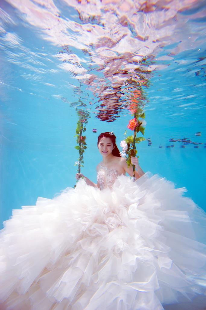 水中藝術照