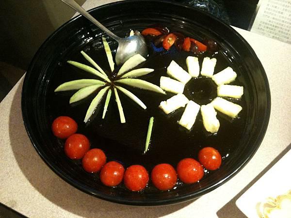 水果排列真可愛!