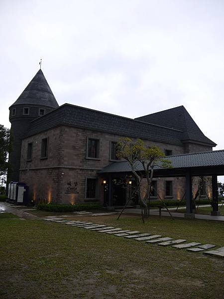 伯朗頭城城堡咖啡館