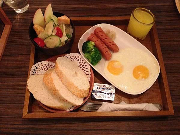 起司法國麵包餐