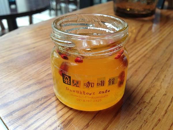 粉紅胡椒鳯梨果醬