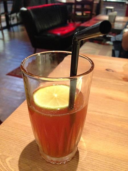 經典紅茶加檸檬片