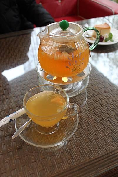 檸香紅柚茶