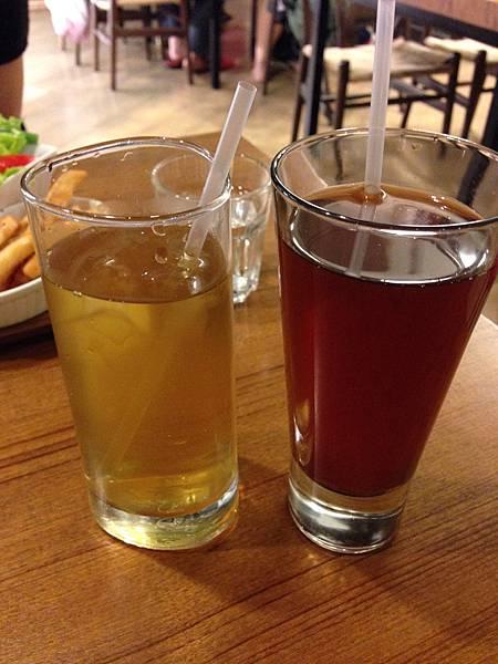 冰好食蜜蜜紅茶&冰粹釀鮮綠茶