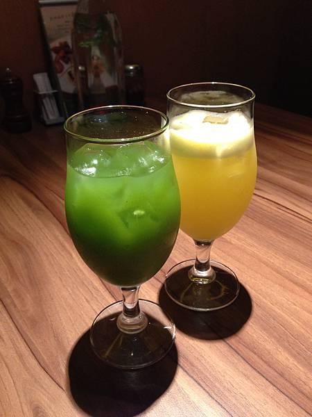 鳯梨香蘋汁&綠色奇蹟