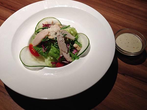 燻雞鮮蔬沙拉